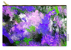 Purple Lilacs Carry-all Pouch