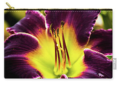 Purple Lily - Close Up Carry-all Pouch