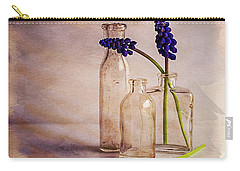 Purple Carry-all Pouch by Mary Hone