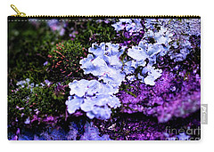 Purple Moss Carry-all Pouch