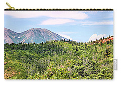 Purple Mountain Majesty Carry-all Pouch by Kristin Elmquist