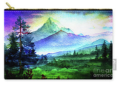 Purple Mountains Majesty Carry-all Pouch