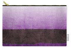 Purple On The Horizon- Art By Linda Woods Carry-all Pouch