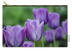Purple Ones Carry-all Pouch by Nick Boren