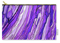 Purple Passion Carry-all Pouch by ABeautifulSky Photography