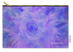 Purple Passion By Sherriofpalmspringsflower Art-digital Painting  Photography Enhancements Tradition Carry-all Pouch