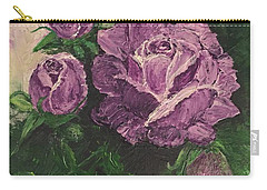 Purple Passion Carry-all Pouch by Lucia Grilletto