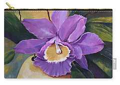 Purple Passion Orchid Carry-all Pouch