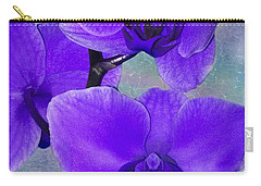 Purple Passion Orchid Carry-all Pouch by Kathy M Krause