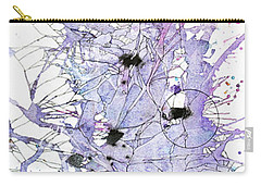 Purple Passion Carry-all Pouch by Rebecca Davis