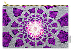 Purple Patched Carry-all Pouch