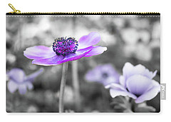 Purple Petals Carry-all Pouch