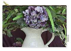 Purple Pleasures Carry-all Pouch by Sherry Hallemeier