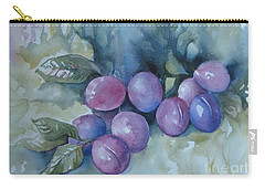 Purple Plums Carry-all Pouch