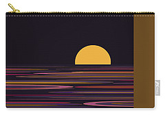 Purple Pond Reflections Carry-all Pouch