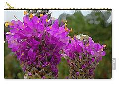 Purple Prairie Clover Carry-all Pouch
