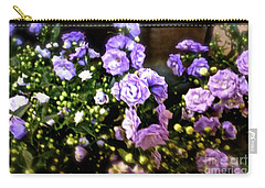 Purple Pretties Carry-all Pouch by Beth Saffer
