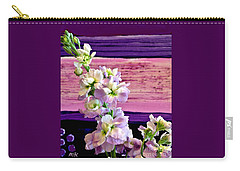 Carry-all Pouch featuring the photograph Purple Purple Everywhere by Marsha Heiken