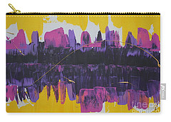 Purple Reflections Carry-all Pouch