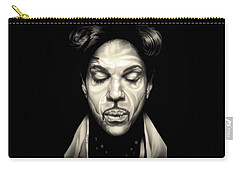Purple Reign Carry-all Pouch by Fred Larucci