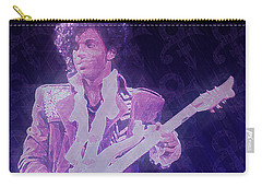 Purple Reign Carry-all Pouch by Kenneth Armand Johnson