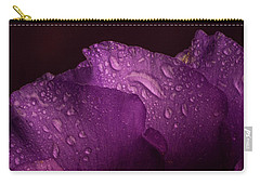 Purple Showy Prairie Gertain Carry-all Pouch by Garry McMichael