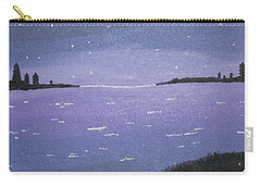 Purple Skies Carry-all Pouch by Cyrionna The Cyerial Artist