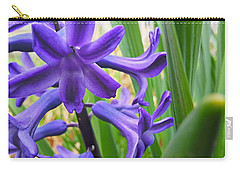 Carry-all Pouch featuring the photograph Purple Spring by Robert Knight