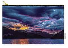 Purple Sunset At Summit Cove Carry-all Pouch