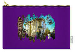 House With The Purple Swing Carry-all Pouch
