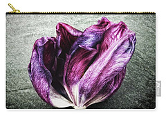Purple Swirl Carry-all Pouch by Karen Stahlros