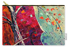 Purple Symphony Carry-all Pouch by AmaS Art