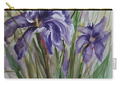 Purple Times 3 Carry-all Pouch