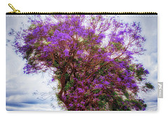 Purple Tree  ... Carry-all Pouch by Chuck Caramella