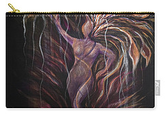 Purple Tree Goddess Carry-all Pouch