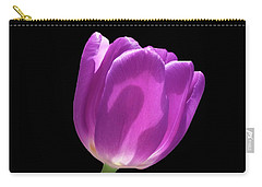 Purple Tulip 3 Carry-all Pouch
