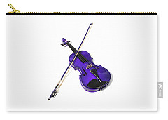 Purple Violin Carry-all Pouch