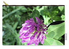 Purple Wild Flower Carry-all Pouch
