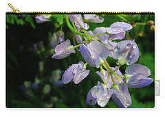 Carry-all Pouch featuring the photograph Purple Wildflower by Tikvah's Hope