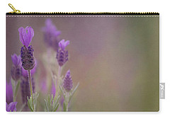 Purple Wings Carry-all Pouch by Jacqui Boonstra