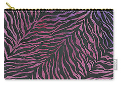 Purple Zebra  Carry-all Pouch