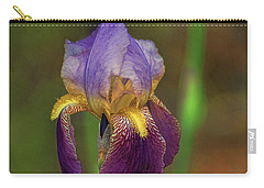 Purplish Iris Carry-all Pouch