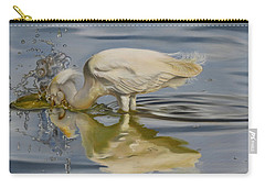 Carry-all Pouch featuring the painting Pursuit by Phyllis Beiser