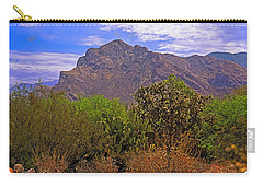 Carry-all Pouch featuring the photograph Pusch Ridge Morning H10 by Mark Myhaver