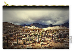 Carry-all Pouch featuring the photograph Push by Mark Ross