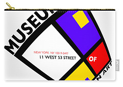Putting On De Stijl Carry-all Pouch by Charles Stuart