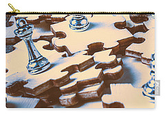 Puzzle Of Mysteries And Strategy Carry-all Pouch