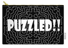 Puzzled Carry-all Pouch