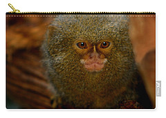 Pygmy Marmoset Carry-all Pouch by Anthony Jones
