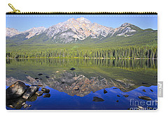 Pyramid Lake Reflection Carry-all Pouch by Teresa Zieba